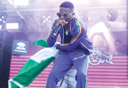 Wizkid steals show at Notting Hill Carnival 2017