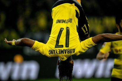 Aubameyang in a hurry as Dortmund crush Cologne