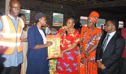 Association donates items worth N20m to Edo IDP camp