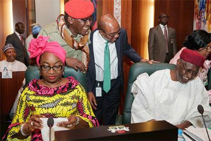 Photos: President Buhari, Alhassa, others at FEC meeting