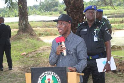 Okowa signs DSIEC, 2 other bills into law