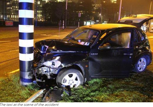 Car crash: Man City striker Aguero escapes death