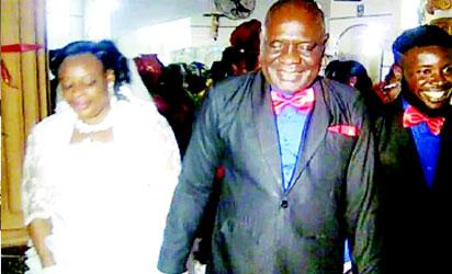 Bride finally finds peace and