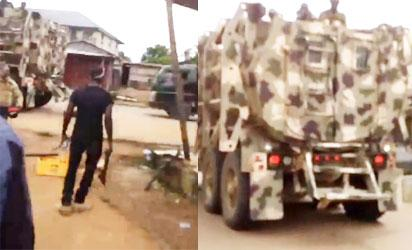 Breaking: Army allegedly invade NUJ office in Abia