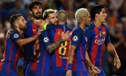Barcelona FC mulls joining EPL