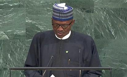 """UN: Don't be silent on """"ethnic cleansing"""" in Myanmar , Buhari tells world leaders"""