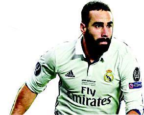 Carvajal signs Real Madrid extension until 2022