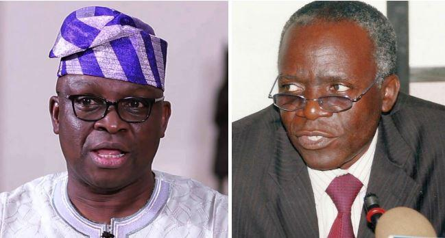 Falana – EFCC waiting for you; You're now member of commission, says Fayose