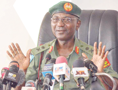 The military is monitoring social media, DHQ spokesman, Major General John Enenche, insists