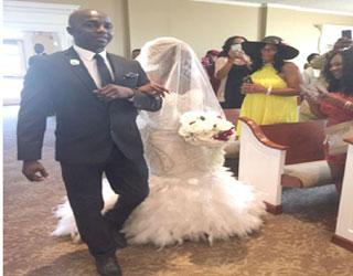 Siasia displays another skill  as daughter weds in Atlanta