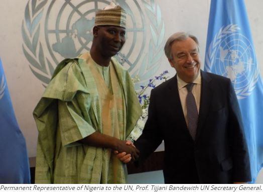 Breaking: Nigeria declares UN Security Council obsolete, undemocratic