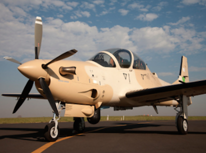 Nigeria's Super Tucano jets include guided bombs, rockets