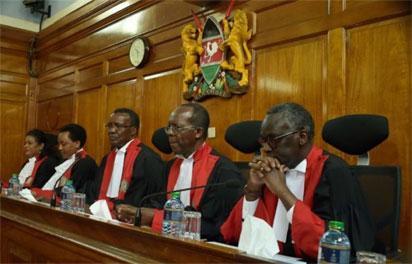 Supreme court bashes IEBC for Kenyatta's voided election