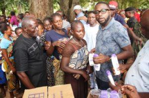 Benue flood victims get relief materials from Unilever