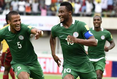 Photos: Nigeria vs Cameroon