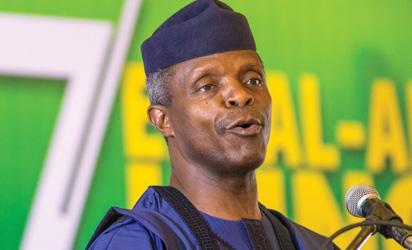 Osinbajo rejects quota system, says Nigeria should embrace merit
