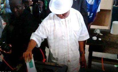 VP Boakai, George Weah lead in Liberia provisional result