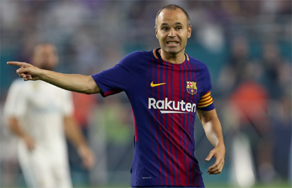 Andres Iniesta agrees lifetime contract at Barcelona following months of speculation