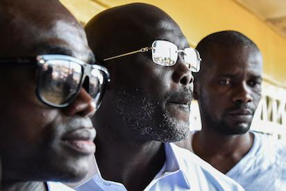 Liberia Polls:  George Weah in early lead