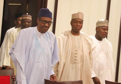 2018 budget: We'll receive Buhari when he's ready – Saraki