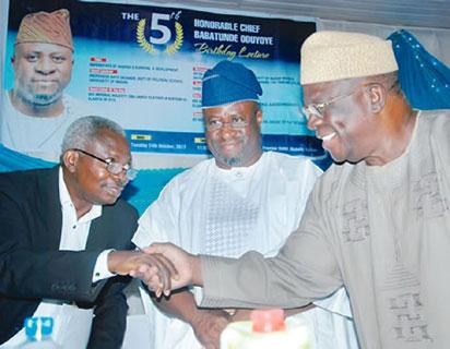 Adebanjo takes on opponents of restructuring