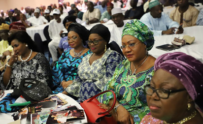 Photos: Gbenga  Daniel officially declares for PDP Chairmanship
