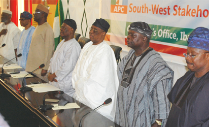 When jittery, divided S-West APC leaders gathered in Ibadan