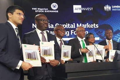 Obaseki, Fayemi, Onyema discuss Edo, Nigeria investment opportunities at London Stock Exchange