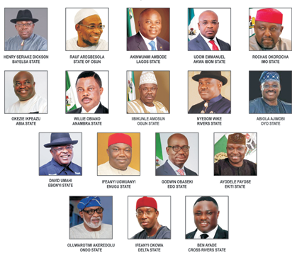 Southern Governors Meet in Lagos, Agree on Devolution of Powers