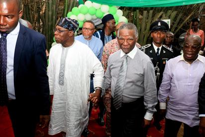 Photos:  Thabo Mbeki's visit Olusegun Obasanjo Presidential Library