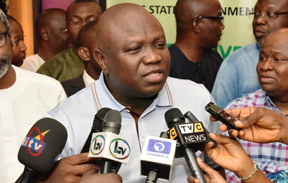 Ambode seeks lawmakers' support for reforms in transport, environment, energy sectors