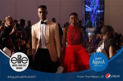 Tobi Momoh and Stephen Aladenika Emerge Winners Of Aquafina Elite Model Look Nigeria 2017