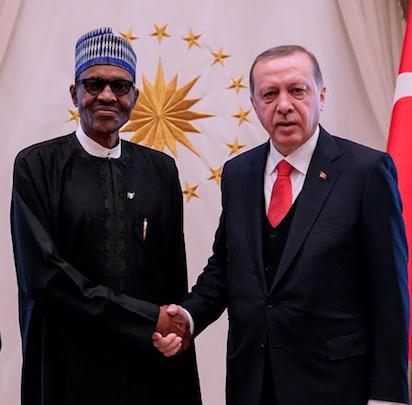 Erdogan, Buhari to ramp up Nigeria-Turkey cooperation