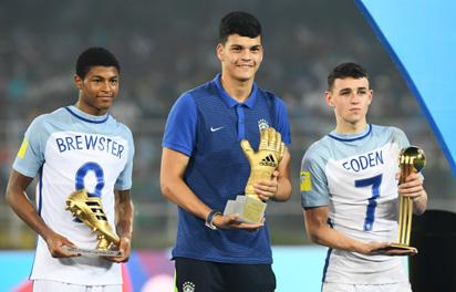 How  Manchester City starlet helped England beat Spain 5-2 in U17 World Cup final