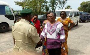 Onyeka Onwenu leads visit of hope to Badagry prison