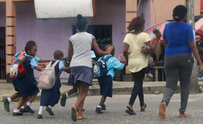 Photos: Panic in Rivers State schools over Army vaccination