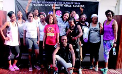 The re-union of 1988 set of Federal Govt Girls College, Gboko