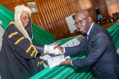 Obaseki presents 146bn 2018 budget to Edo Assembly - Vanguard News