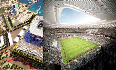 Ras Abu Abound stadium