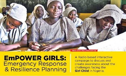 NAS, proffering solutions to challenges confronting girl child