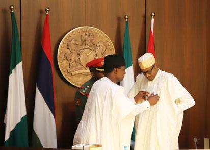 Photos: FEC meeting SGF swear-in and armed forces emblem launch