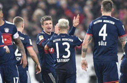 Drama in Stuttgart as Bayern go 11 points clear