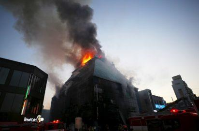 22 die, 24 injured in South Korean building fire