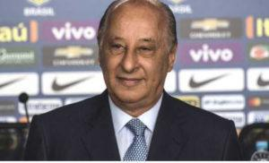 Brazilian football confederation president Marco Polo Del Nero
