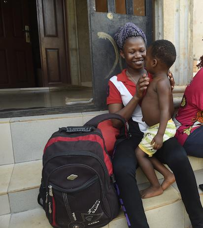 W African migrants return home from Libya