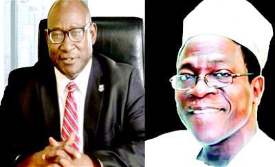 From L-R: •Guinness Nigeria Chairman, Babatunde Savage and •Nigeria Breweries Chairman, Kolawole Jamodu