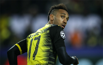 Dortmund play hardball with Arsenal for Aubameyang