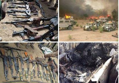 Nigerian troops kill 107 Boko Haram terrorists - Army
