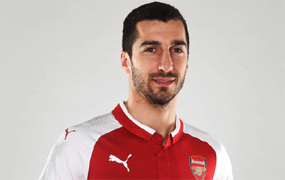 BREAKING: Henrikh Mkhitaryan joins Arsenal