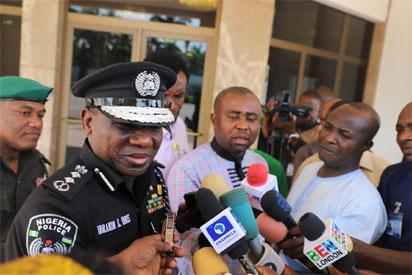 Image result for Police deny 2,000 Boko Haram members have infiltrated Asaba